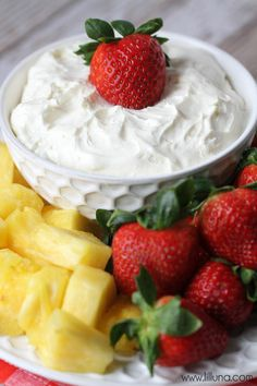 Vanilla fruit dip re