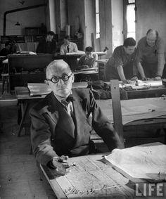 Le Corbusier #themanwiththeplan