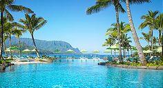 Princeville Resort at Hanalei, Kauai, Hawaii I would saw off my arm to go back to hawaii