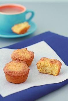 Gluten free orange-almond cake/muffins.