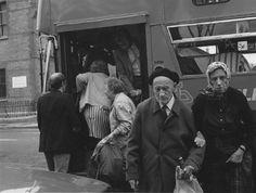 Donovan Wylie IRELAND. Dublin. Elderly couple walking home. 1988.