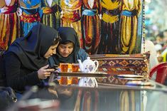Traditional Tea House in Isfahan, Iran Iranian Women, Tea Culture, Drinking Tea, Traditional Outfits, Old Things, Design Inspiration, House, Clothes, Outfits