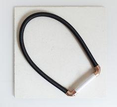 Eleanor Amoroso / Copper Corner Necklace #eleanoramorosojewellery