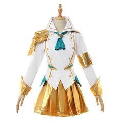 The Lady of Luminosity Magical Girl Start Lux Cosplay Costume Custom LOL Uniform