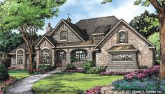 Front Rendering of The Chesnee - House Plan #1290