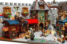 Hama Beads Minecraft, Perler Beads, Art Hama, Amazing Lego Creations, Lego Store, Brick Loft, Lego Castle, Lego Projects, Custom Lego