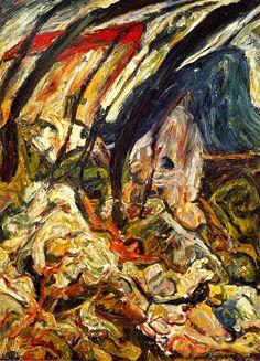 Landscape at Céret, 1921 / Chaim Soutine