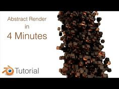 Abstract Art in Bender For Beginners - YouTube