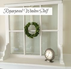 repurposed window shelf pin