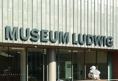 Museum Ludwig ~ Cologne, Germany ~ Home to one of Europe's largest Picasso collections along with many works by Andy Warhol and Roy Lichtenstein Cologne Bonn Airport, Museum Ludwig, Picsart Tutorial, Cities In Germany, Holy Roman Empire, North Rhine Westphalia, Swiss Alps, Romanesque, Roman Catholic