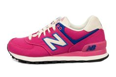 New Balance WL574RUP Rugger Pack women shoes pink white blue HOT SALE! HOT PRICE!