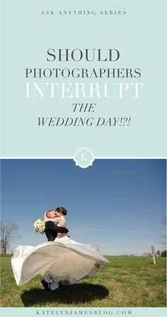 Should Photographers Interrupt A Wedding Day? | Virginia Wedding Photographer | Katelyn James Photography