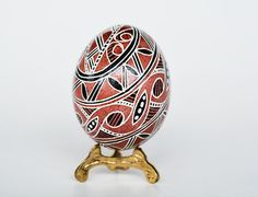 Check out this item in my Etsy shop https://www.etsy.com/ca/listing/78734426/trypillian-pysanka-ukrainian-easter-eggs