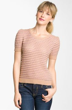 Got this :) Frenchi® Short Sleeve Sweater (Juniors) available at #Nordstrom