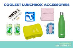 The very coolest lunchbox accessories for back to school time, to help save you money on disposable stuff
