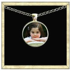 Custom pendant bezel glass tile Personalized by IttyBaubles, $14.95