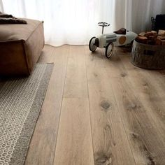 Easy Sewing Projects: 25 Things to Sew in Under 1 Hour - Wood Parquet Vinyl Plank Flooring, Timber Flooring, Laminate Flooring, Kitchen Flooring, Doors And Floors, Refinishing Hardwood Floors, Floor Colors, Wood Interiors, Painted Floors