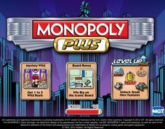 "Monopoly Plus is the 8th Monopoly branded game reviewed we've here, and like six of the others is produced by IGT. (For die-hard Monopoly fans, Monopoly Riches fixed odds game can be found under Bet365 casino or NeoGames reviews). Monopoly Plus has a unique feature called ""Level Up Plus"" which is a....."