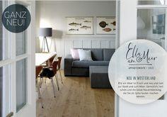 Ella am Meer Sylt - Living - Auto Barcelona Restaurants, Holiday World, Travel Planner, Coastal Living, Coastal Style, Travel Around The World, Hinata, Adventure Travel, Travel Inspiration