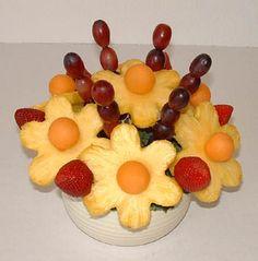 how to make edible arrangements