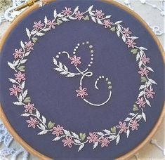 personalized embroidery Kit Monogram Personalized Gift DIY