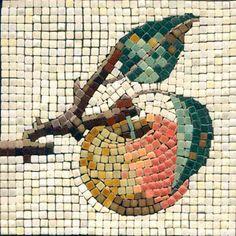 Mosaic Apple Fruit - Mosaik Apfel - Mosaique Pomme - Micro Ceramic Tiles - Kit Alea Mosaik