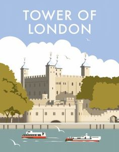 This Tower of London Art Print is created using state of the art, industry leading Digital printers. The result - a stunning reproduction at an affordable price. A stunning Art Print featuring the design of the Tower of London. Tower Of London, London Art, Photo Vintage, Railway Posters, Voyage Europe, Poster Ads, Cities, Vintage Travel Posters, Portsmouth