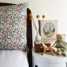Image of Brother Fox Liberty print pillowcase