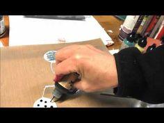 Marbling with Acrylic Gel Mediums