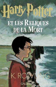 "Обложка к книге Дж. К. Роулинг ""Гарри Поттер и Дары Смерти"" издательства ""Gallimard"". #HP #Rowling #Gallimard"