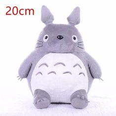 Hot Totoro Soft Stuffed Animal Cushion My Neighbor Totoro Plush Doll Toy Pillow  For Kid Baby Birthday Christmas Gift 6/8/20cm - A