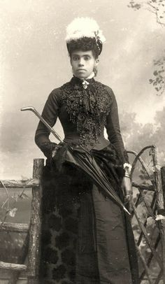 1884: African-American woman from Tallahassee, Florida - Photo by Alvan S. Harper