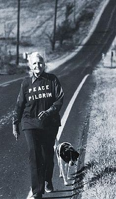 Peace Pilgrim stayed with my grandparents in Cashmere Wa in the 50's.