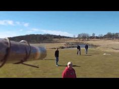Golf course offers drone cigar delivery. *Right to your Hole* - YouTube