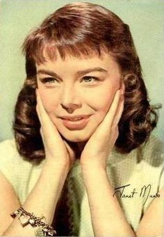 "Janet Munro (1934 - 1972) British actress known for sci-fi thrillers, ""The Crawling Eye"", ""The Day the Earth Caught Fire"", and Disney adventures, ""Swiss Family Robinson"", ""Darby O'Gill and the Little People"""