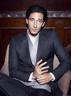 Adrien brody is my new sexy actor friend.  I will be inspired by his every role...