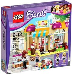 Lego Friends New Sealed Set 41006 Downtown Bakery Complete Minifigs Girls Toy Lego Space Sets, Lego Sets, Lego Girls, Toys For Girls, Lego Duplo, Lego Ninjago, Kids Toys For Christmas, Lego Friends Sets, Lego Jurassic