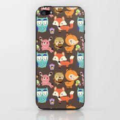 Woodland iPhone & iPod Skin by Maria Jose Da Luz - $15.00