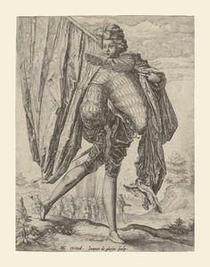 Jacques de Gheyn the Younger (1565-1629) The Standard-Bearer (21 x 15,5 cm)