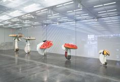 Mushroom art by Carsten Höller