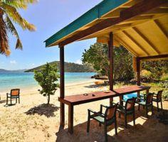 B-Line Beach Bar   Little Jost van Dyke, BVI - hope i can convince D to go here!