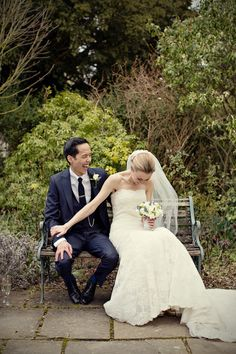 I love this joyful couple moment captured by Marianne Taylor Photography   junebugweddings.com