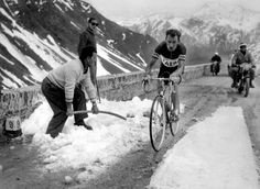 A native of Luxembourg, Charly Gaul recorded his lone Tour de France victory in 1958, when snow needed to be shoveled away to clear his path through the Alps.