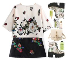 """""""Flower power"""" by gabygirafe ❤ liked on Polyvore featuring WithChic, philosophy, Estée Lauder, Via Mercato, Sheinside and shein"""