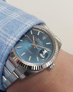 Rolex Datejust 41 Blue Baton Dial 126334
