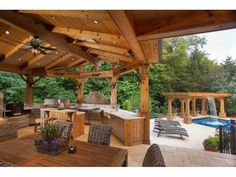 House Wow!: Pool With Waterfall; Heated Outdoor Kitchen; Perennial Garden | Naperville, IL Patch
