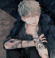 紹介 ₊·₍icons anime b₎⸃⸃ Hot Anime Boy, Anime Boys, Dark Anime Guys, Cool Anime Guys, Handsome Anime Guys, Manga Art, Anime Manga, Anime Art, Anime Boy Zeichnung