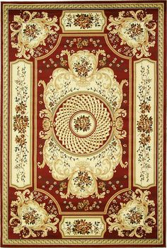 2 x 10 Green Classic Aubusson Area Rugs