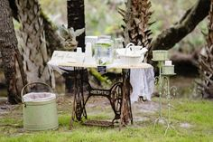Vintage Wedding with a Pastel Color Palette | Angel Gray Photography | Up the Creek Farms | Crystal and Crates Vintage Rentals