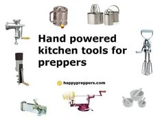 Prepper's Kitchen Tools